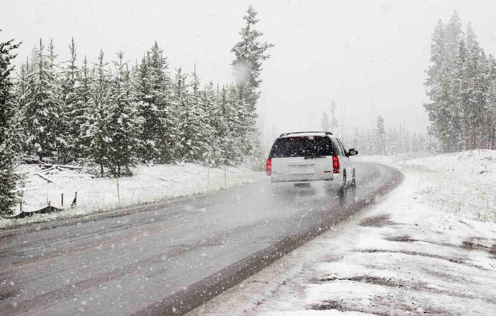 condições adversas (neve)