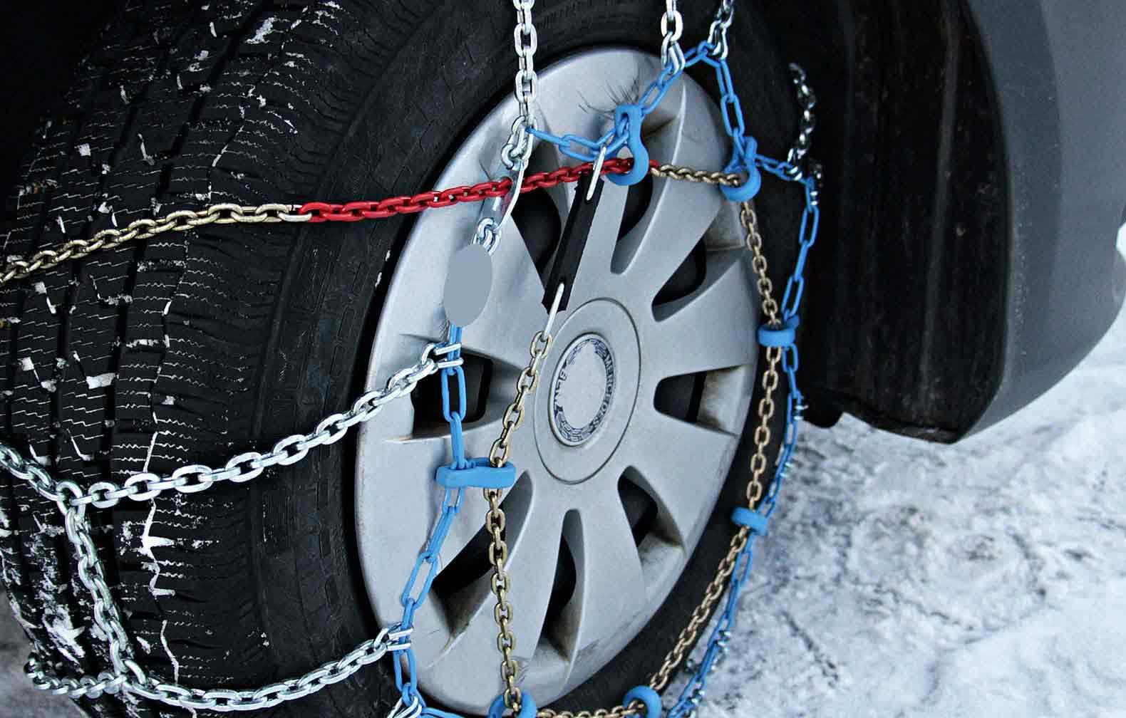 correntes para pneus para neve e gelo